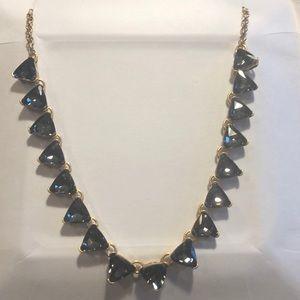 Crystal black necklace!